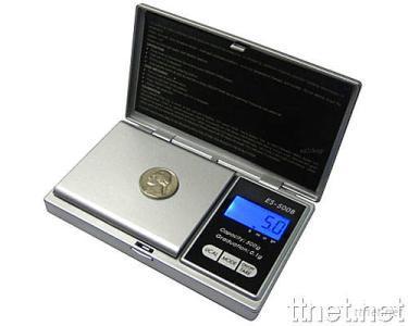 Digital Pocket Scale, Silver Color