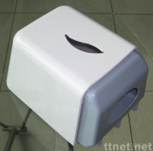Toilet tissue roll dispenser