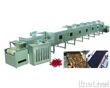 Tunnel-Type Microwave Sterilizing and Drying Machines
