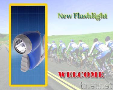 Hand-pressing Flashlight