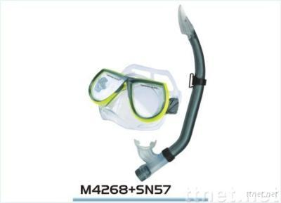 Diving Mask and Snorkel Set