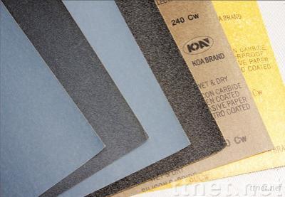 Wterproof Abrasive Sand Paper