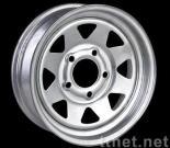 Steel painted wheels (modular,blade,8 spoke)