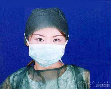 3-Ply Nonwoven Surgeon Face Mask with Tie