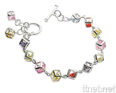 925 Sterling Silver Jewelry + Cubic Zircon (Bracelet)