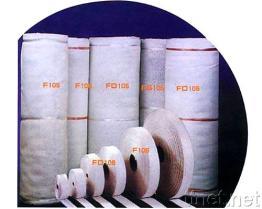 석면 테이프 또는 털실 또는 밧줄 또는 피복 또는 패킹
