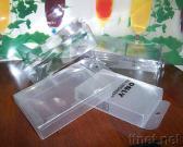 Cilindri trasparenti di plastica dei contenitori di scatole di piegatura