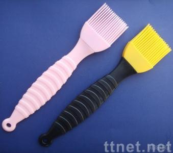 silicone brush, silicone glazing brush, silicone pastry brush, BBQ brush