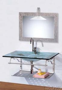 Glass Vanity, Glass Basin, Glass Bowl, Glass Sanitary
