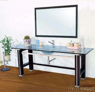Glass Bowl, Glass Vanity, Glass Basin, Glass Sanitary Ware