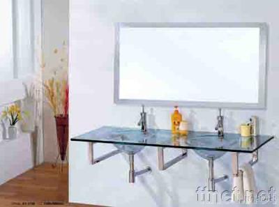 Glass Sanitary Ware, Glass Vanity, Glass Bowl, Glass Basin