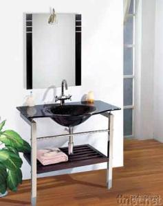 Glass Vanity, Glass Bowl, Glass Basin, Glass Sanitary Ware
