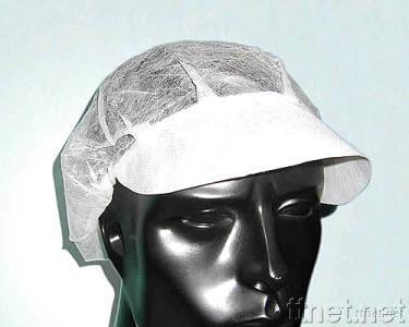 Bouffant Cap with Peak, Disposable Surgeon's/Nurse's Cap