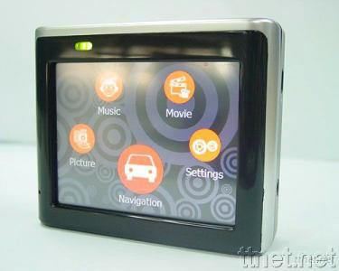 3.5 Inches TFT-LCD GPS Navigation with MP4/MP3/SD