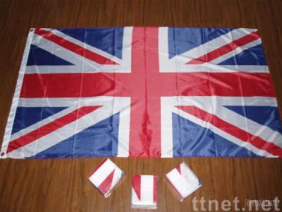 Polyester flag, national flag made of 68D