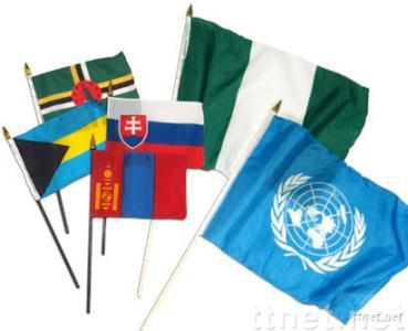 Stick Flags, hand flag