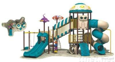 Outdoor playground space thematic (outdoor playground)
