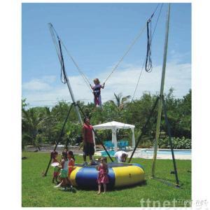 Trampoline bungee