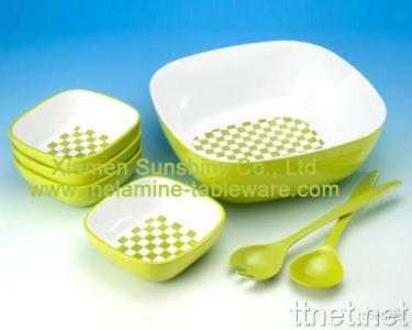 Melamine Salad Bowl Set
