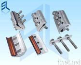 Morsetti paralleli bimetallici della scanalatura con tre bulloni