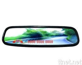 Mirror Bluetooth Car Kit with Parking Sensor