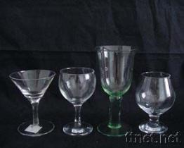 Cristalleria, Stemware, chiavetta, tazza