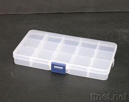 15 Doos van de Opslag van het compartiment de Plastic