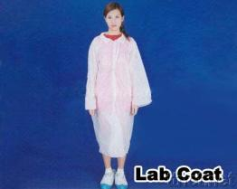 PP Lab Coat, Disposable Lab Coat