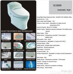 Electronic Bidet/Toilet Seat