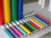 het vinyl van kleurenpvc