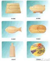 De houten Waren van de Keuken