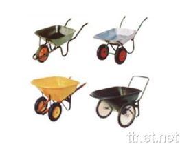 De Kruiwagen van het wiel