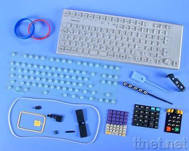 Electronic Rubber Silicone Keyboard/Pad