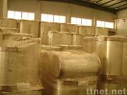 Bopp packing tape clear jumbo roll (with adhesive)