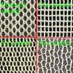 形づく100%年の綿の網(4か6 /Diamond/Stair)