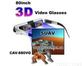 80-inch Video Glasses 3D googles