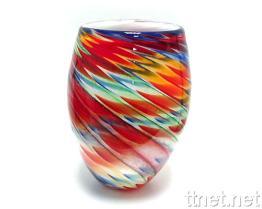 Handgemachter GlasVase