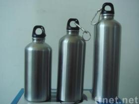 de fles van de roestvrij staalsport