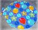 100% Cotton Round Towel