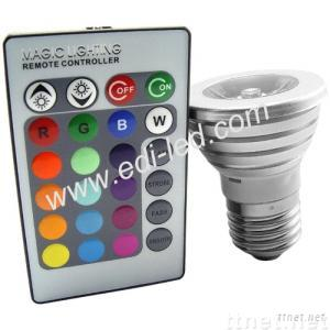 RGB LED Spotlight Remote Control