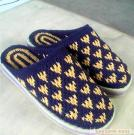 Pure hand knitted slippers 2