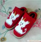 Pure hand crocheted slippers 2