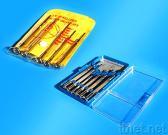 de Reeks van 5 Hulpmiddelen van de Plastic Zak van PCs