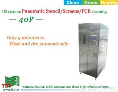 Pneumatic Stencil/Screens/PCB Cleaning Machine