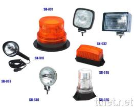 Waarschuwende Lichte & Werkende Lamp