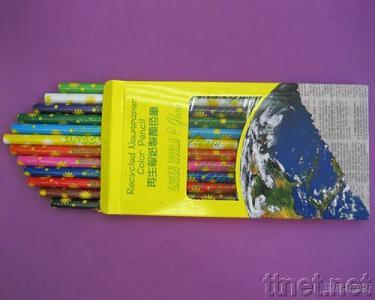 Recycled Paper Color Pencil