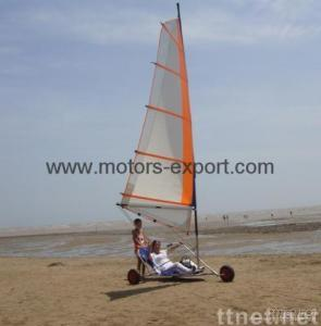 wind power go cart/Land Yachts with 4.5m high sails