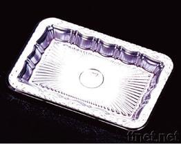 Piatto d'argento squisito