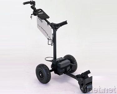 E-Z-GO Electric Rental Golf Trolley with Motor Brake
