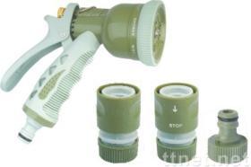 sistema del inyector de la manguera de jardín
